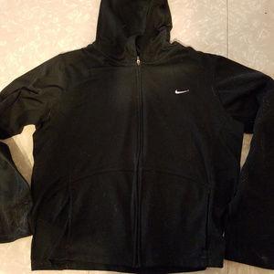 Nike Zipper Hoodie Jacket Dri Fit Athletic Wear